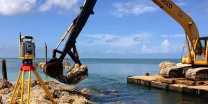 Figure 2. Restorasi pantai. Sumber foto: CoastalEngineering