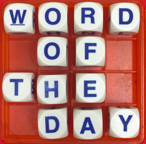 Figure 1. Word of the Day. Sumber. www.theallusionist.org