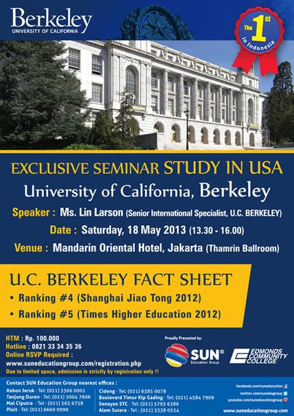 UC Berkeley Seminar