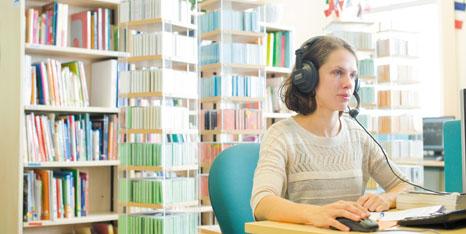 Language Learning Support di Universitas Nottingham. Sumber foto: NottinghamUniversity)