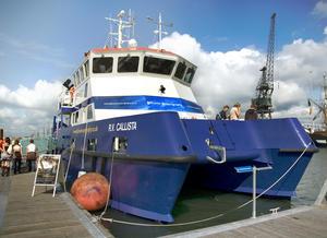 Callista, kapal khusus milik University of Southampton untuk penelitian di laut. Sumber foto: NationalOceanographyCentre