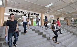 Mahasiswa Sunway University. Sumber foto: Sunway