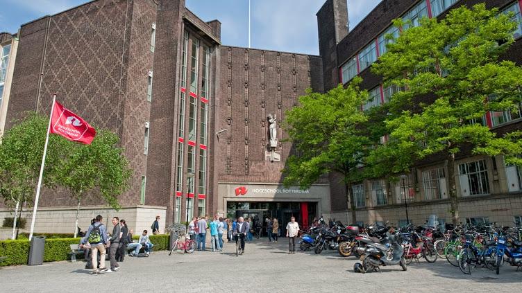 Kampus Rotterdam Business School. Sumber foto: Rotterdamuas