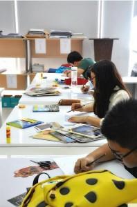 Institusi - Design Foundation Raffles Jakarta Interior Design Studio 4