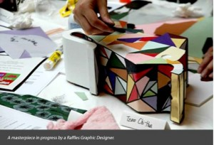 Institusi - Design Foundation Raffles Jakarta masterpiece 1