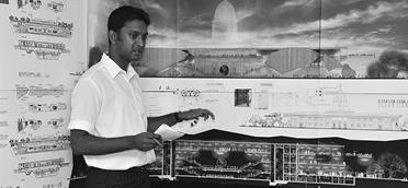 Institusi-Program Arsitektur UWE Bristol Siswa Presentasi 3