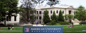 American University campus in Washington DC