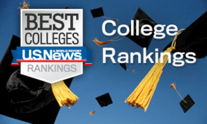 American University is ranked #74 by the US News World Report