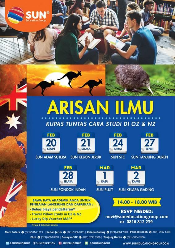 Cara Studi Di Australia Dan New Zealand